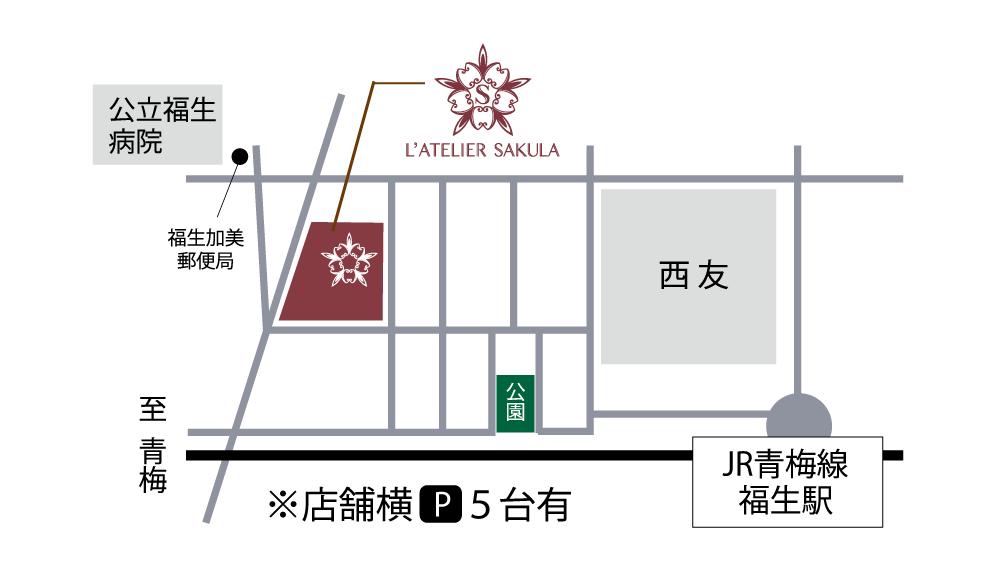ラトリエ地図